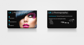 LK Photography - Business Cards