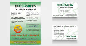 EcoGreen - Flayer A6 + Business Cards