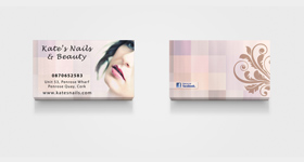 Kate's Nails - Business Cards